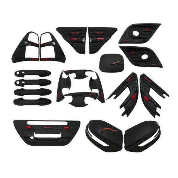 toyota-revo-matt-black-exterior-full-kit-set
